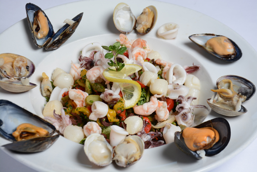 May2019-520pix-MothersDay-Celestino-SeafoodSalad