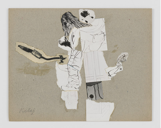 Nov6-2019-520Size-LALouver-RB-Kitaj-Untitled-circa1965-collageonpaperboard