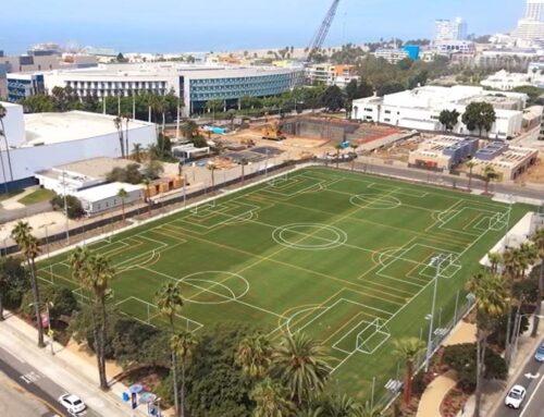 February 28, 2021: The City of Santa Monica, Belmar Park