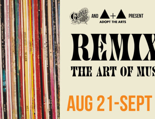 "On View thru September 18, 2021: Gabba Gallery, ""Remix: The Art of Music"""