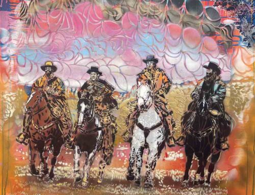 On View thru October 24, 2021: Athenessa Gallery, Artiste Ouvrier