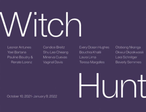 """On View thru January9, 2022: ICA LA, """"WitchHunt"""""""